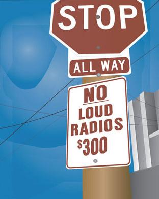 No-Loud-Radios